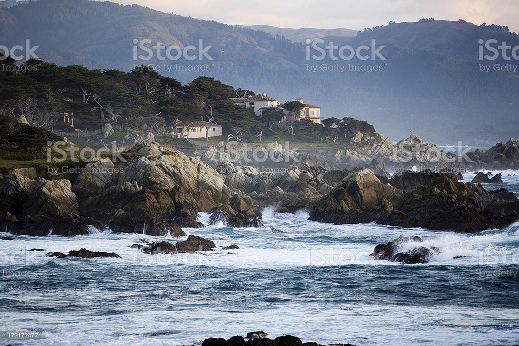 After Sunset, California Coastline Big Sur Area stock photo