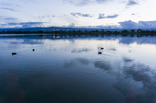 istock After sunset landscape at Shoreline Lake Park, Mountain View, Silicon Valley, San Francisco bay, California 1092391818