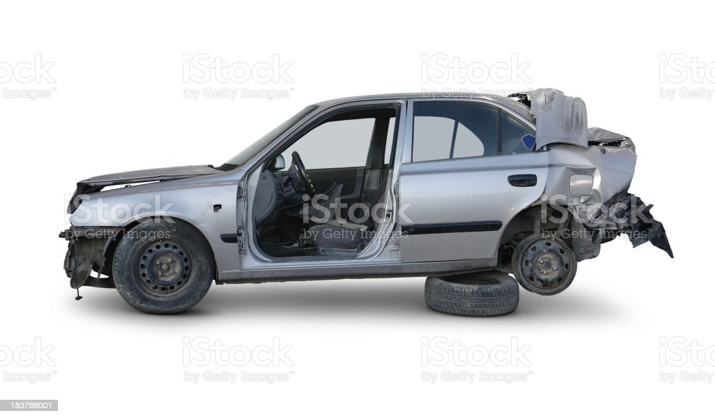 After The Accident stock photo