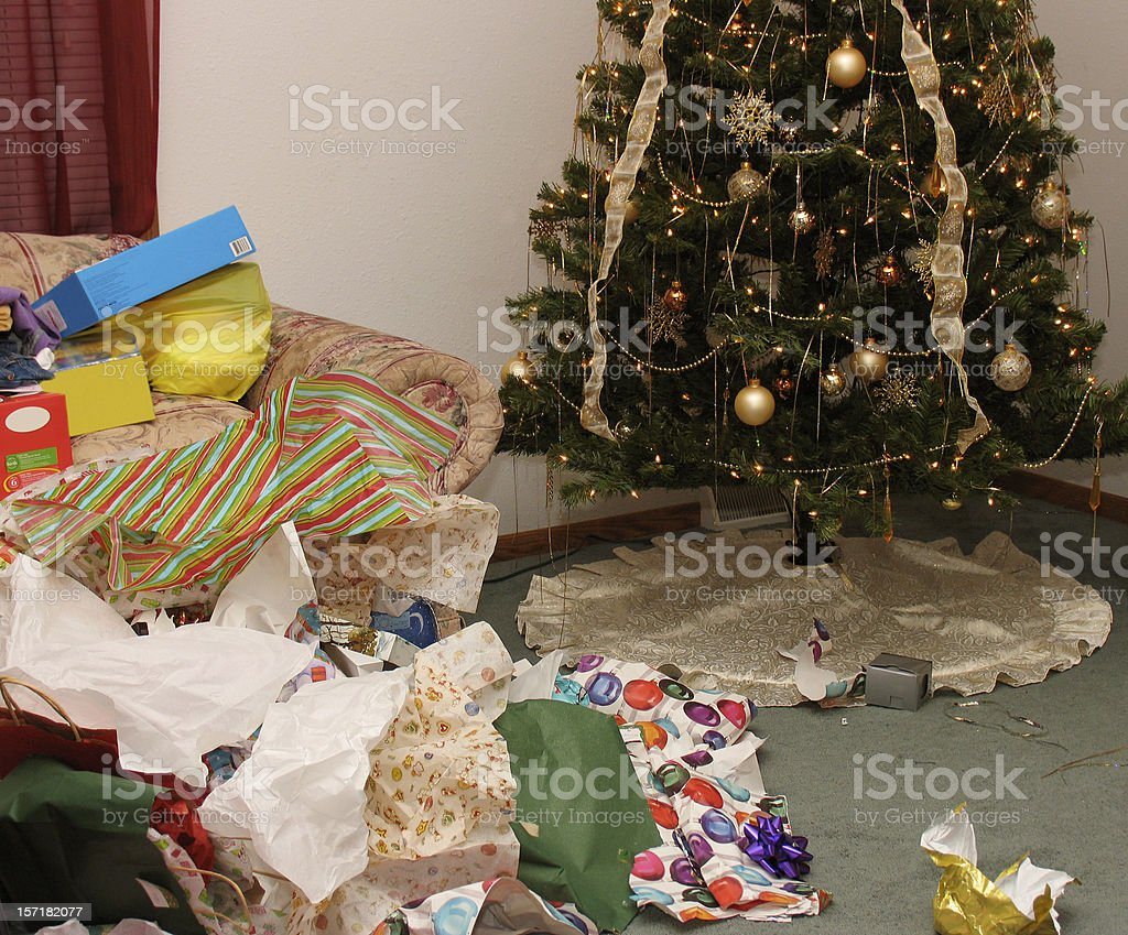After the Christmas Party stock photo