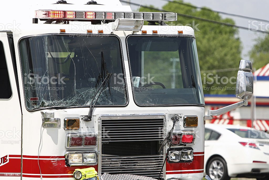After the crash royalty-free stock photo