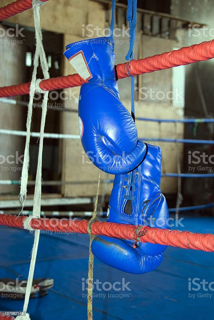 After the fight royalty-free stock photo