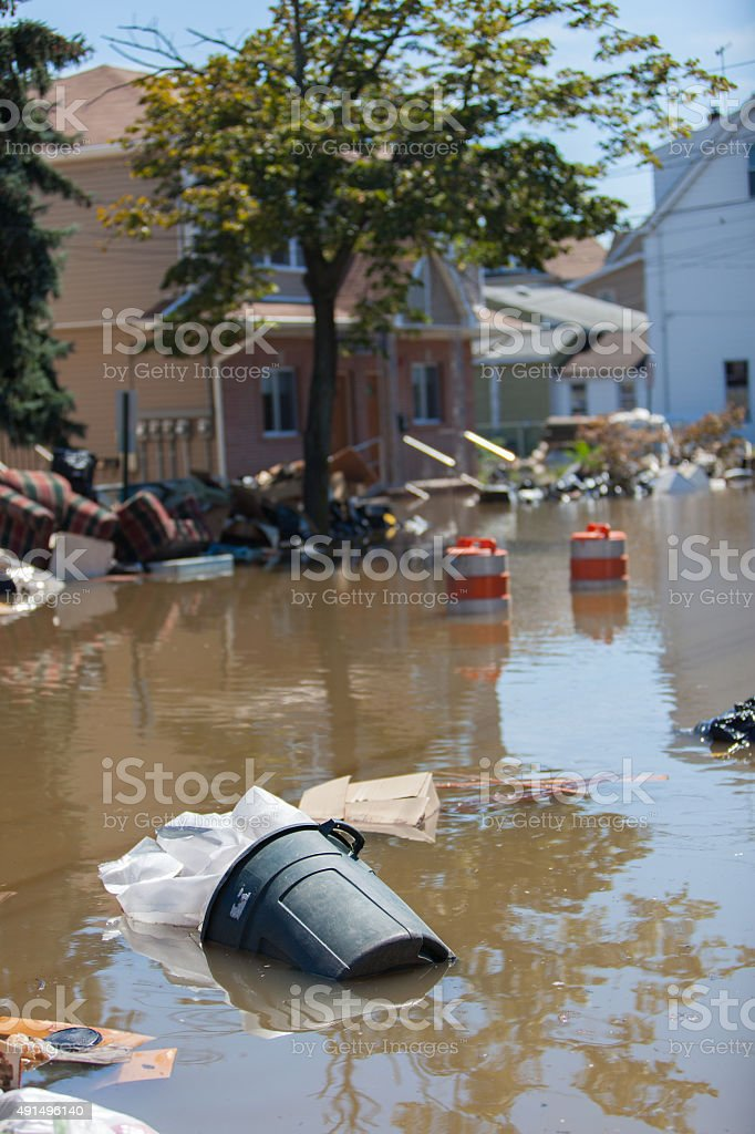 After the Flood stock photo