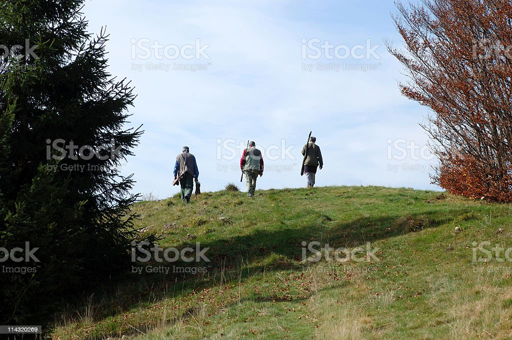 After the Hunt royalty-free stock photo