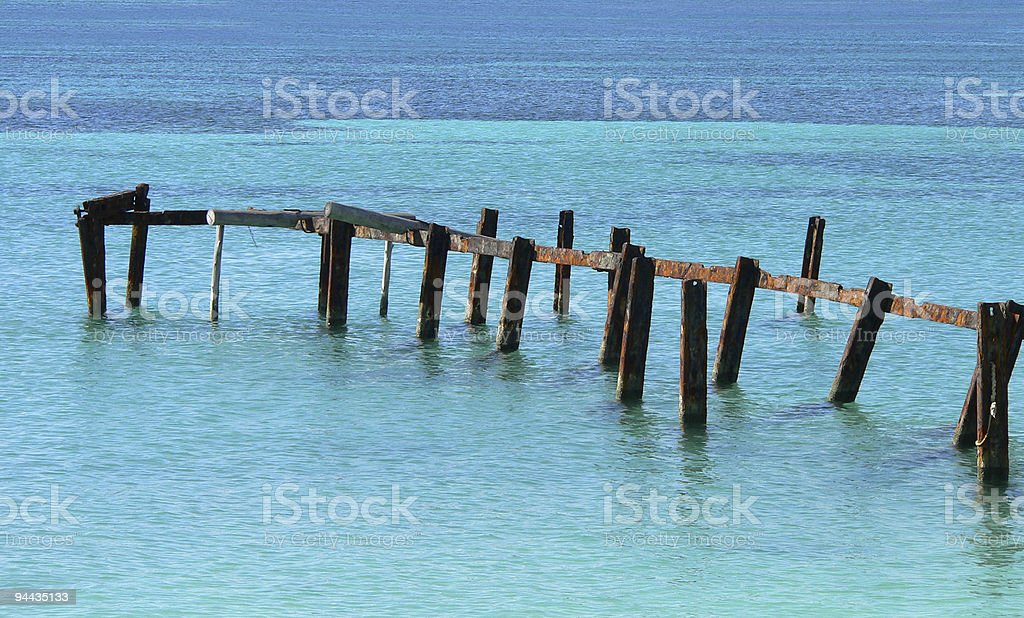 After the hurricane I royalty-free stock photo
