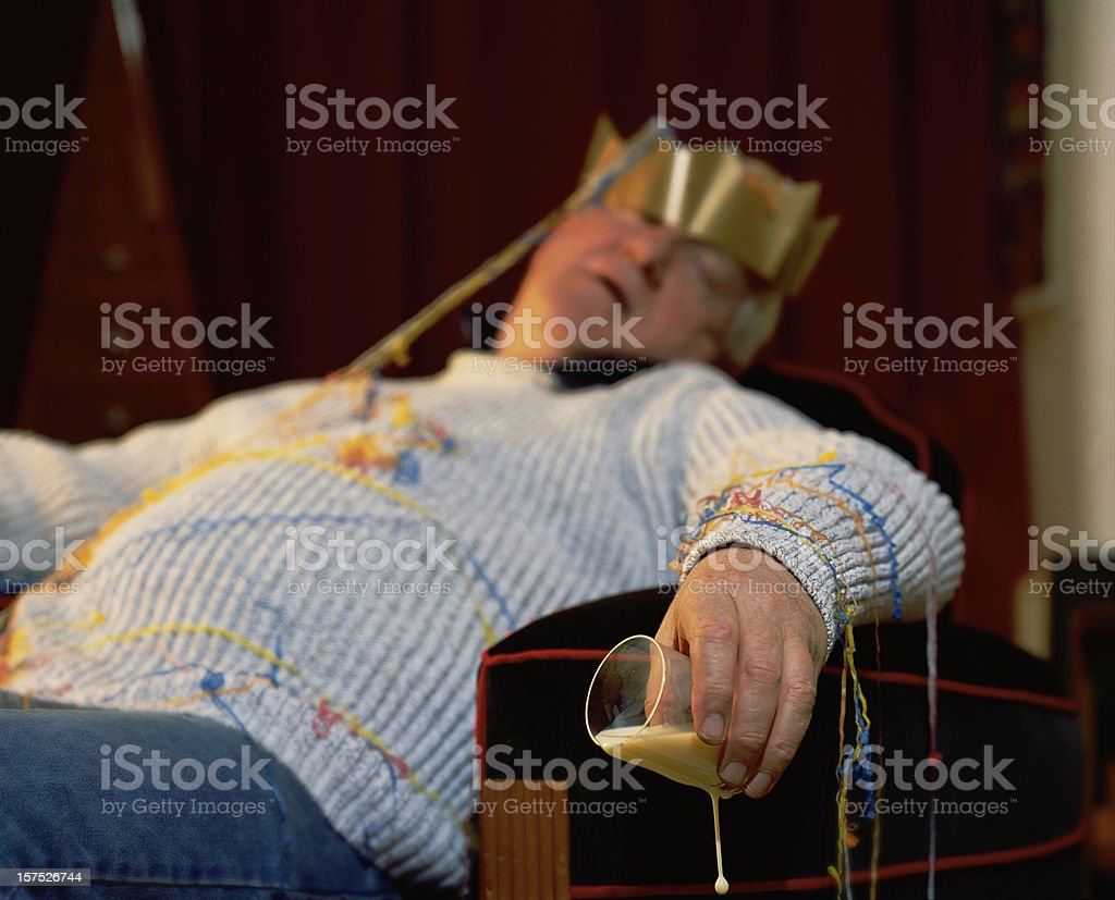 After The Party Hangover stock photo