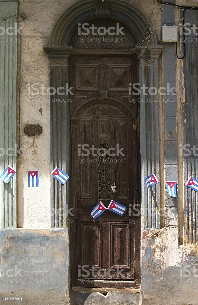 After the party, Havana stock photo