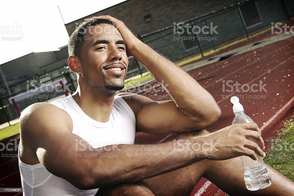 After the Race royalty-free stock photo
