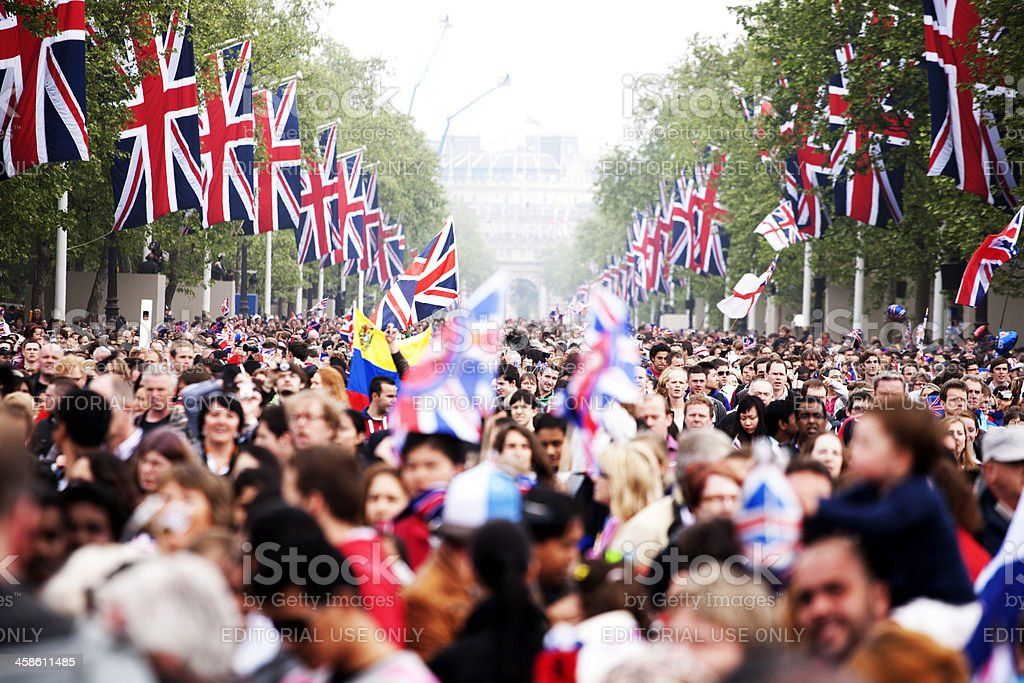After the Royal Wedding royalty-free stock photo