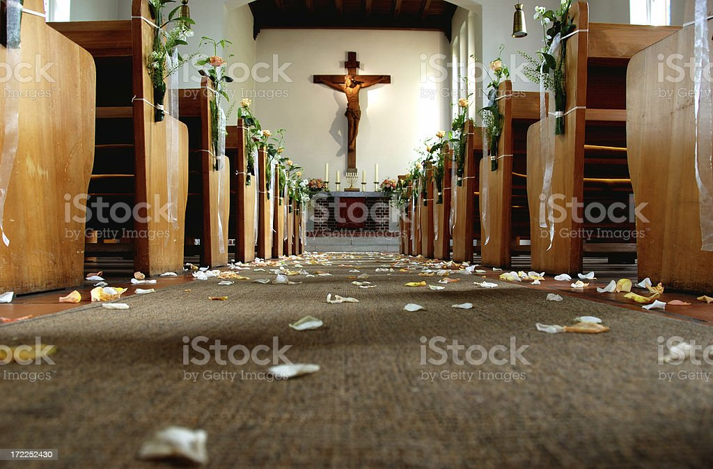 after the wedding royalty-free stock photo
