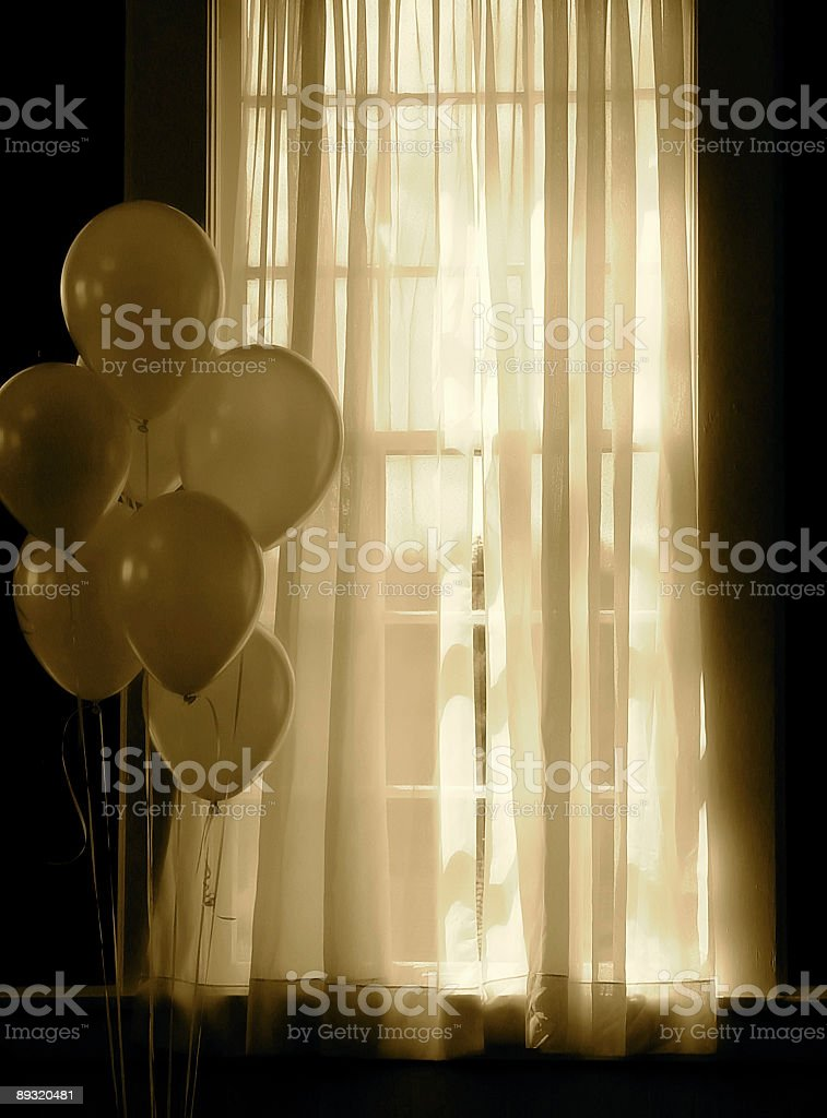 After the Wedding Reception royalty-free stock photo