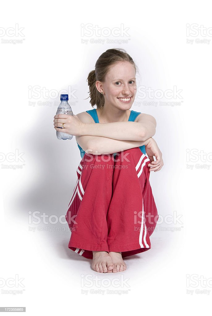 After the Workout royalty-free stock photo