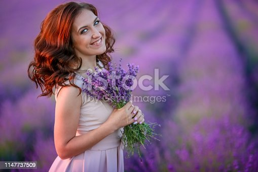 istock After wedding ceremony. Bride is dressed in wedding dress. Bride and groom are married 1147737509