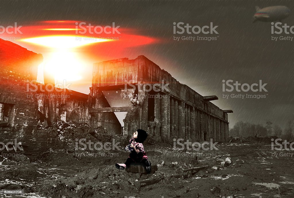 After we're gone stock photo