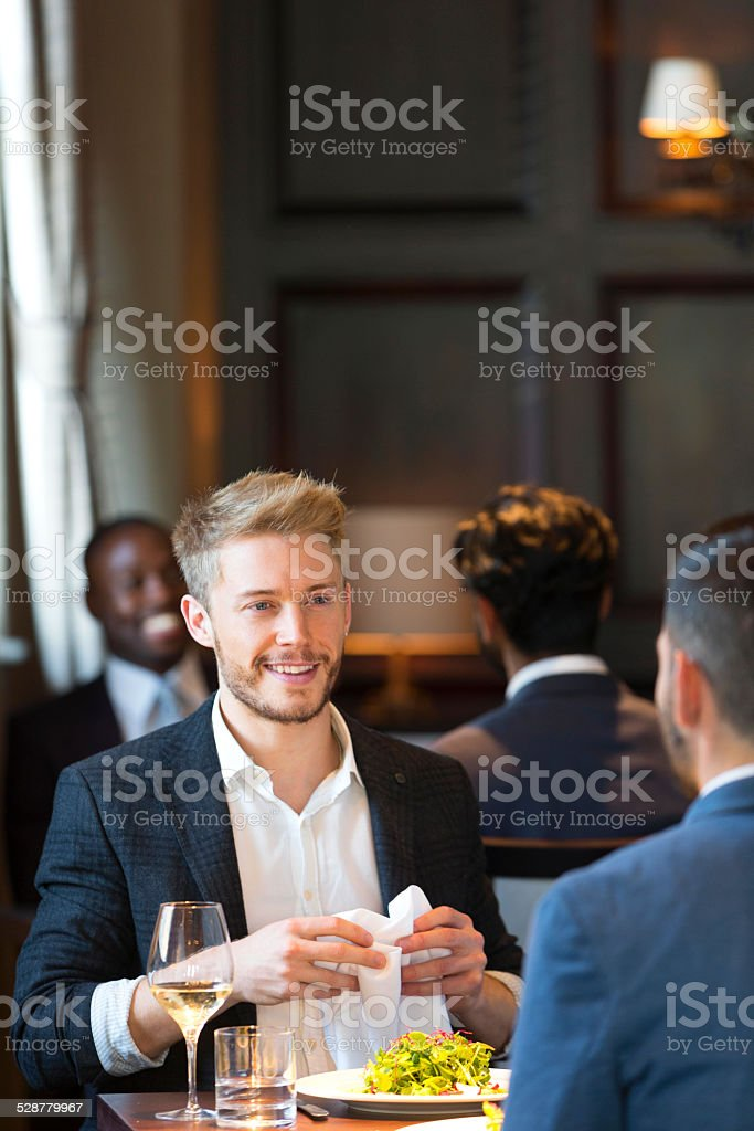 After Work Meal stock photo