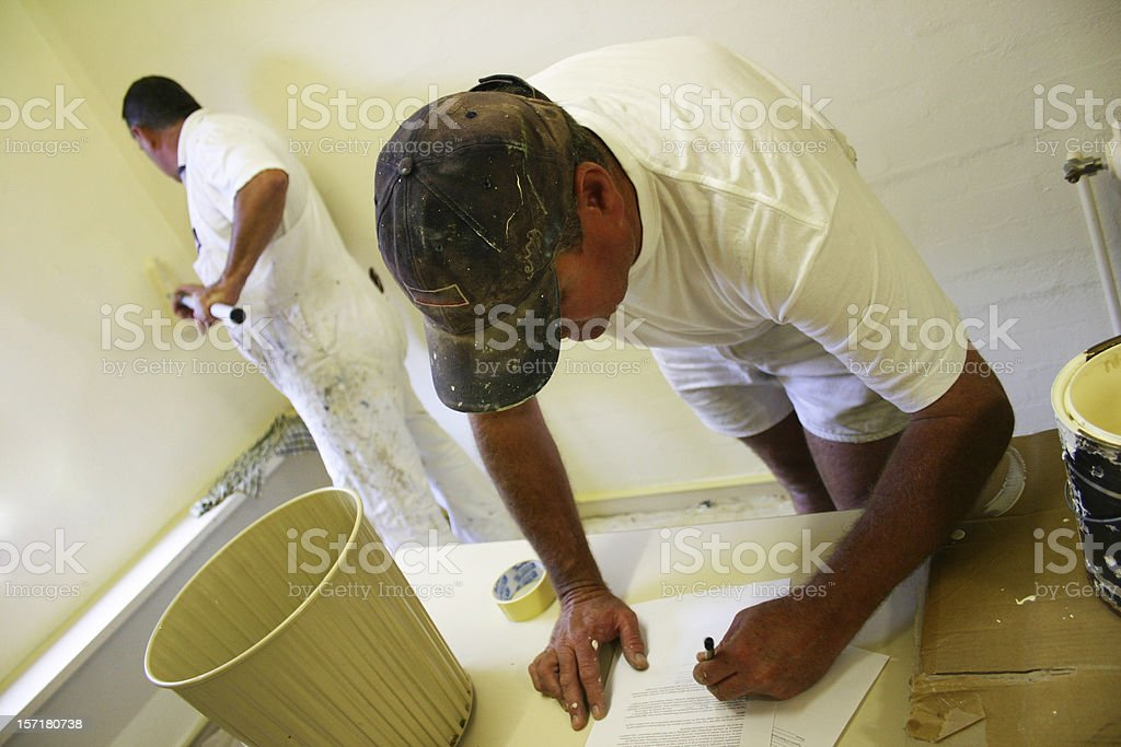 After Work -  Painters royalty-free stock photo