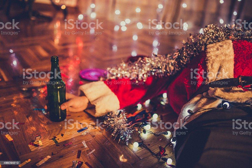 Après la fête de Noël photo libre de droits