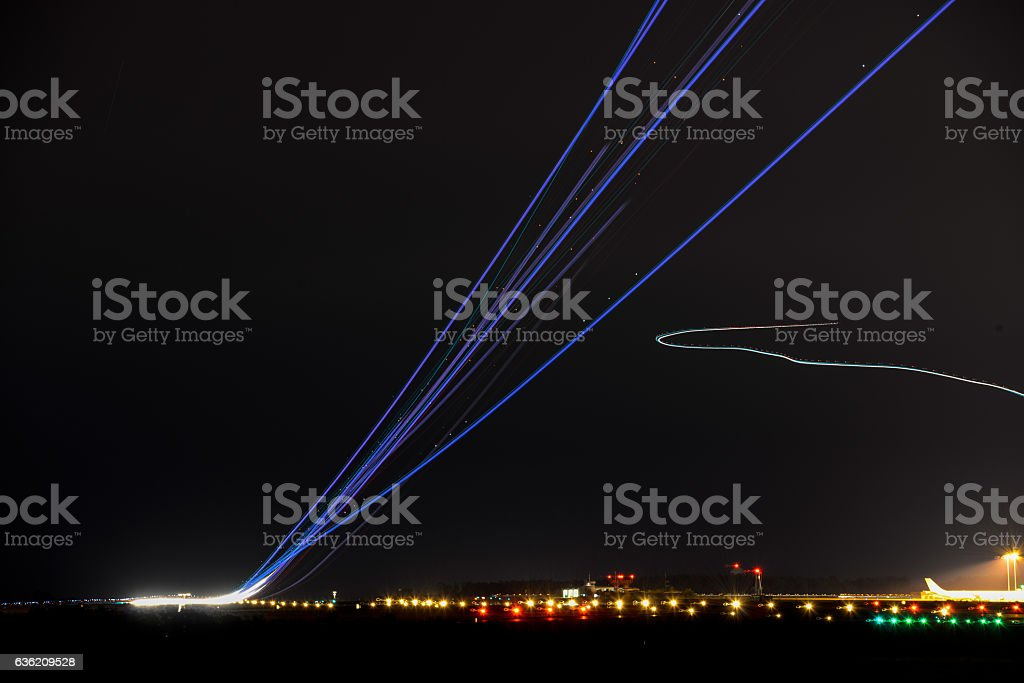 Afterburner stock photo
