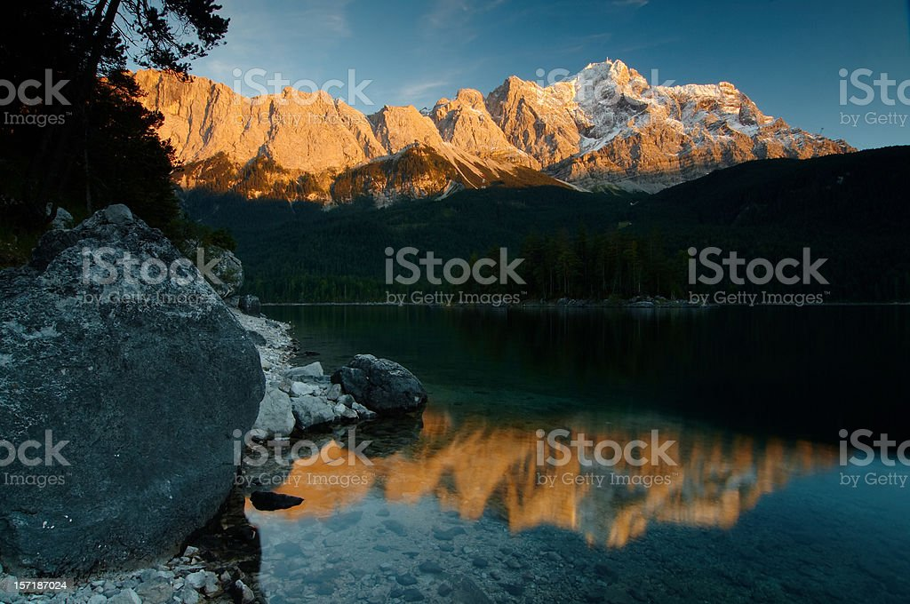 afterglow royalty-free stock photo
