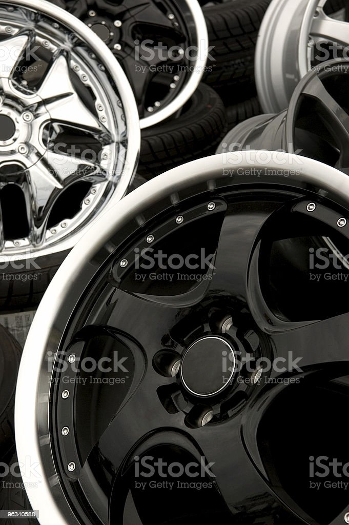 Aftermarket Wheels royalty-free stock photo