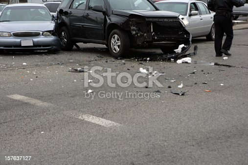 Multi-vehicle collision