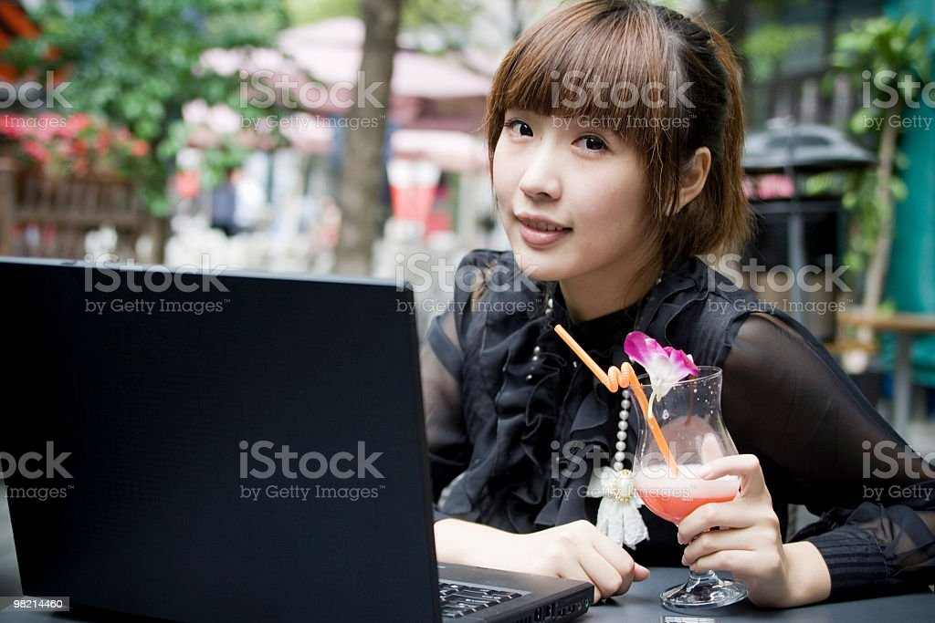 Afternoon cocktail time royalty-free stock photo