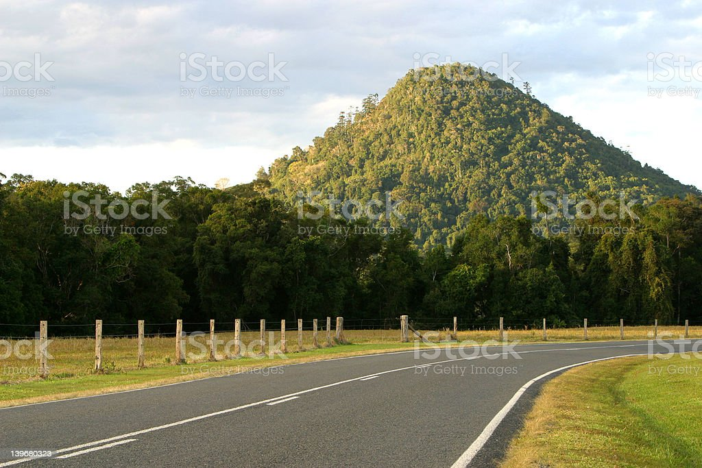 Afternoon Country Road royalty-free stock photo