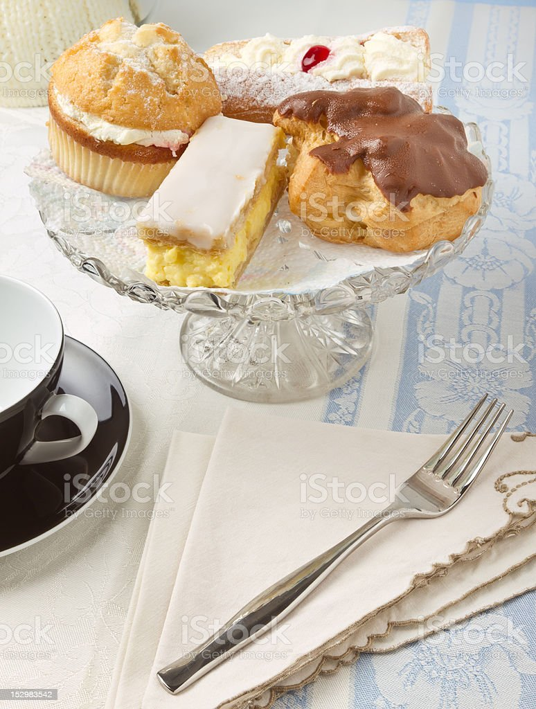 Afternoon Cream Tea royalty-free stock photo