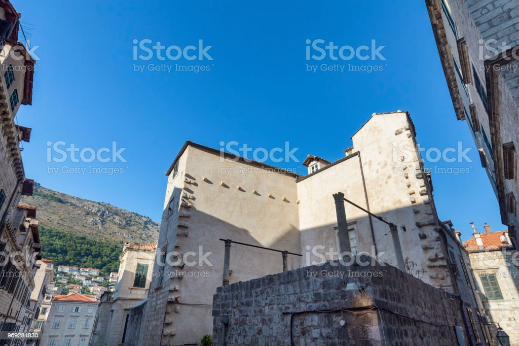 Afternoon Dubrovnik stock photo