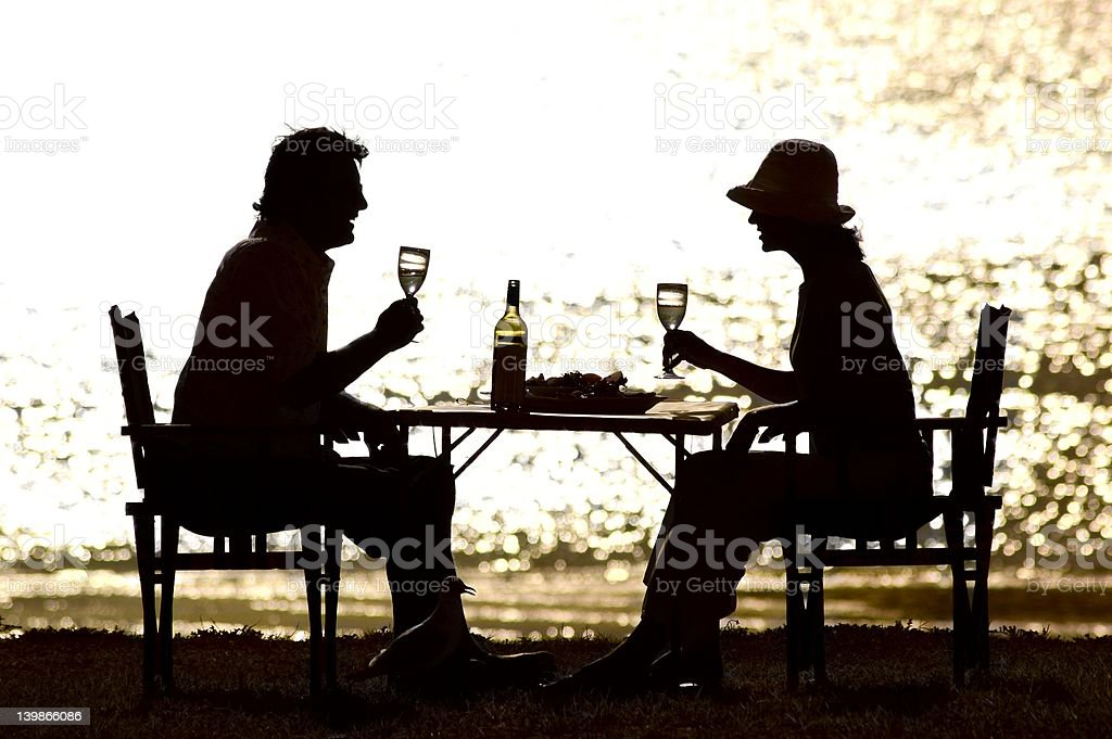 Afternoon Get Together royalty-free stock photo