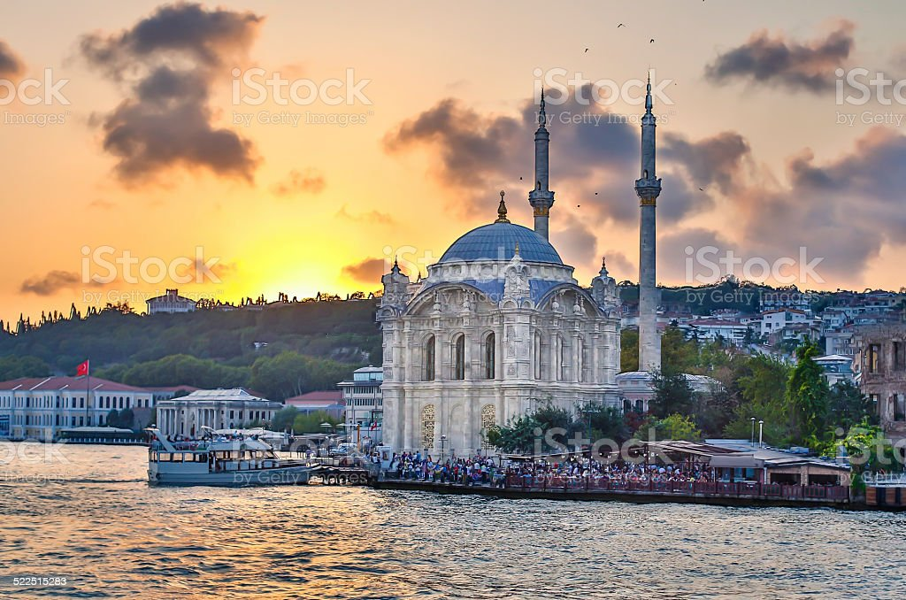 Afternoon in Ortaköy stock photo