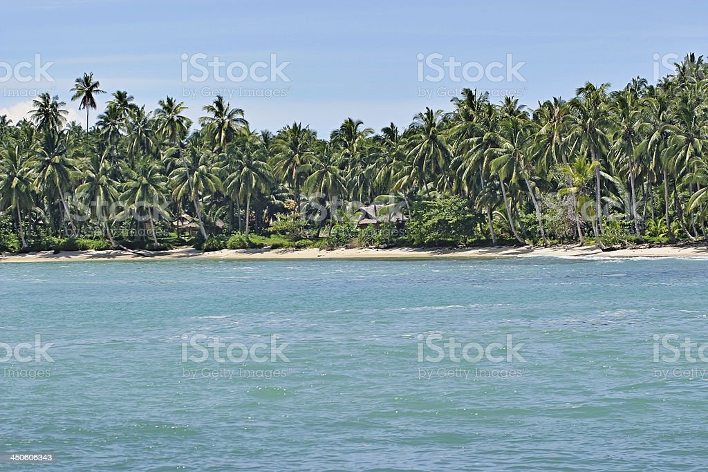 afternoon in paradise... stock photo