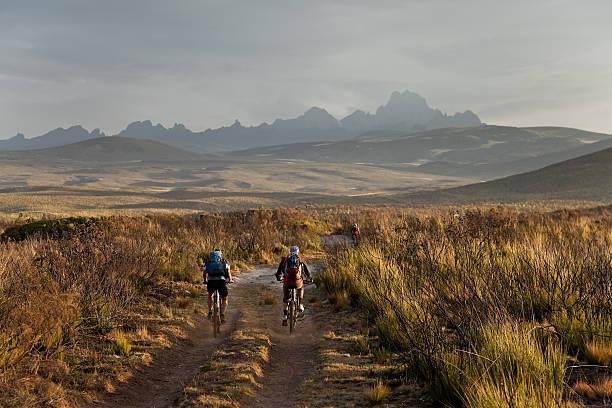Kaffee und mountainbiking im Mount Kenya – Foto