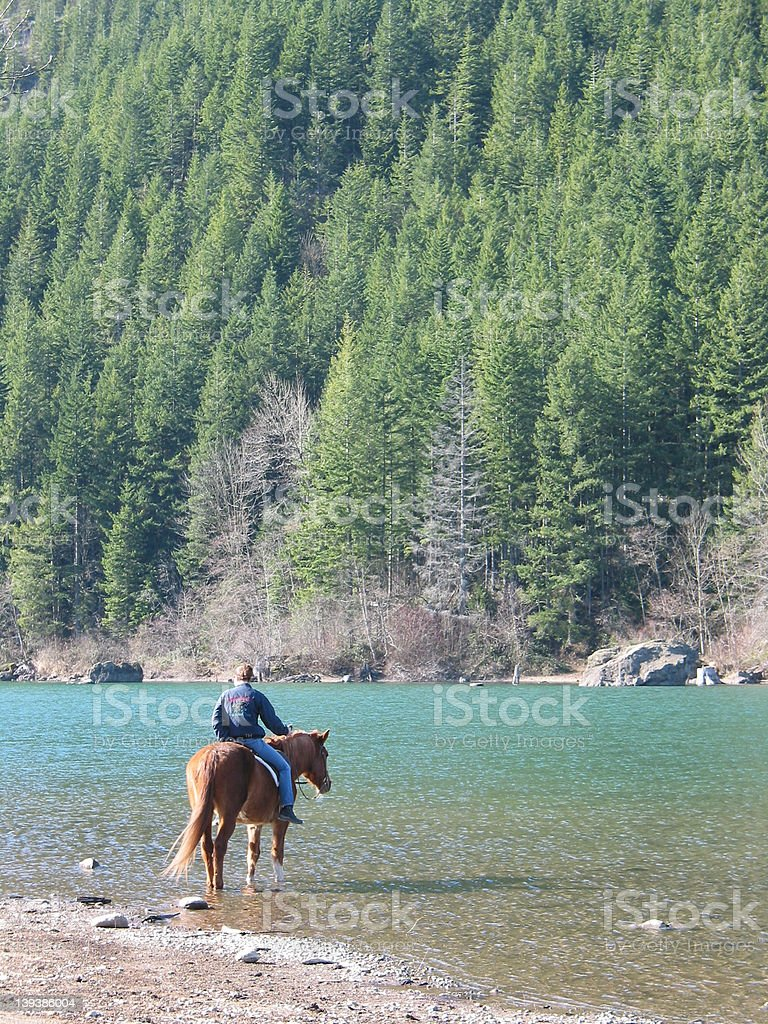 Afternoon Ride royalty-free stock photo