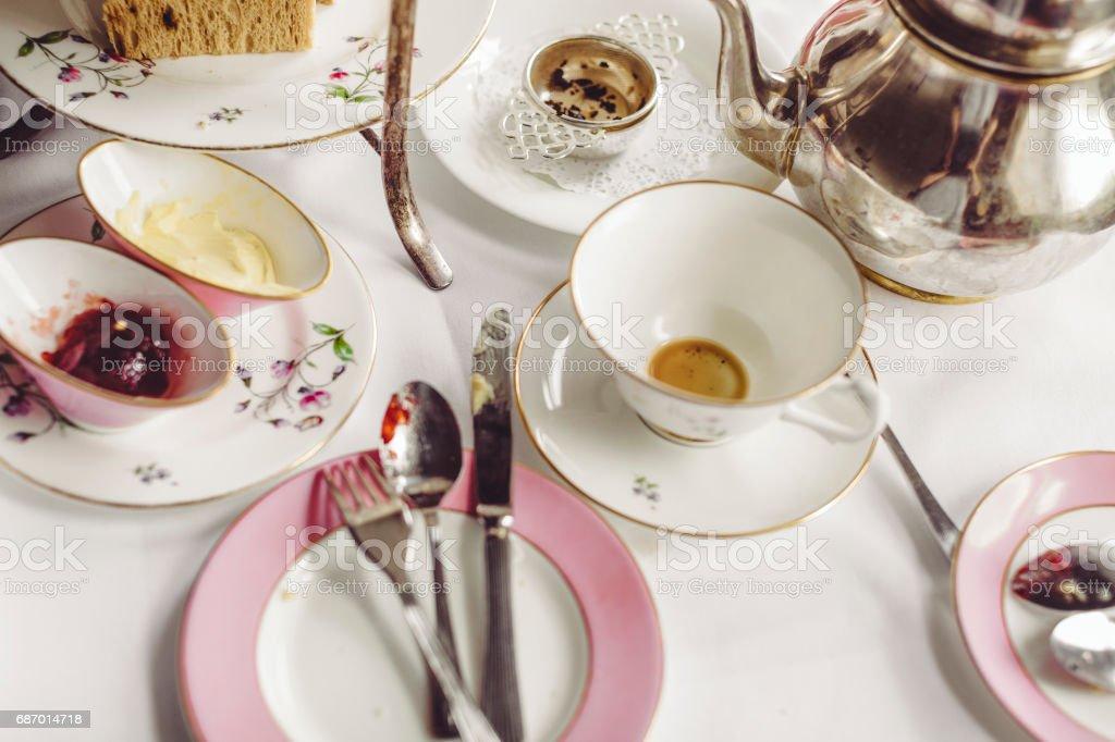 Afternoon Tea für zwei Lizenzfreies stock-foto