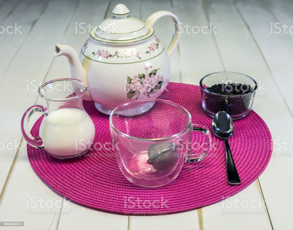Afternoon Tea I stock photo
