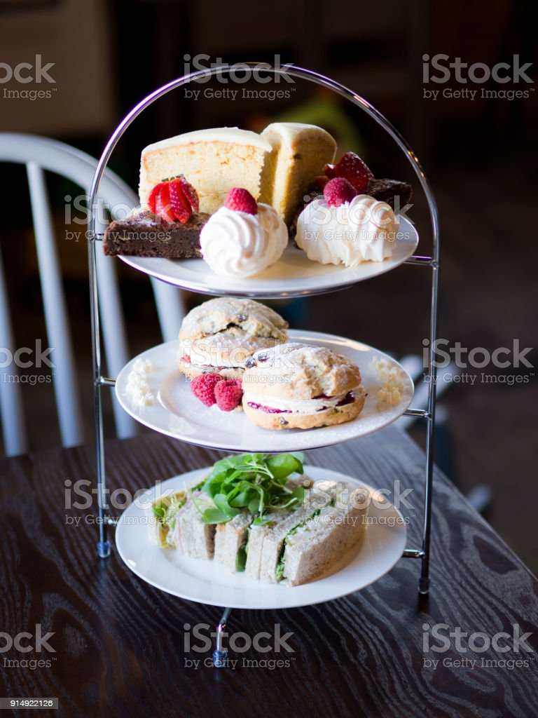 Afternoon Tea Isolated stock photo