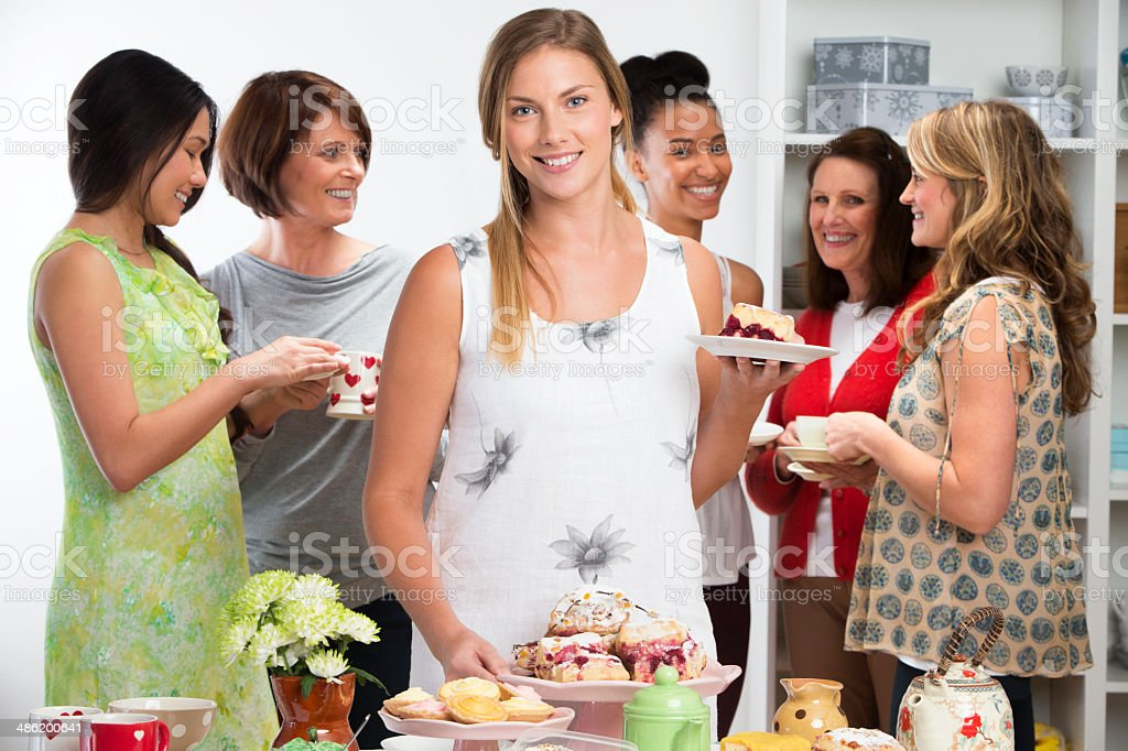 Afternoon Tea Party royalty-free stock photo