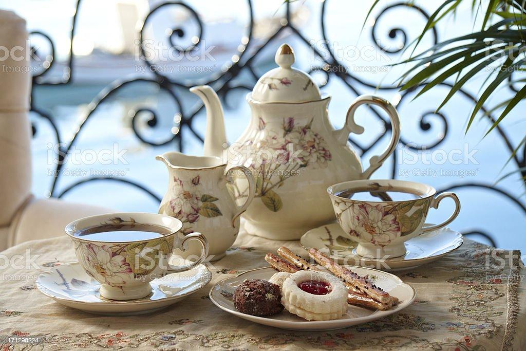 Afternoon Tea stock photo