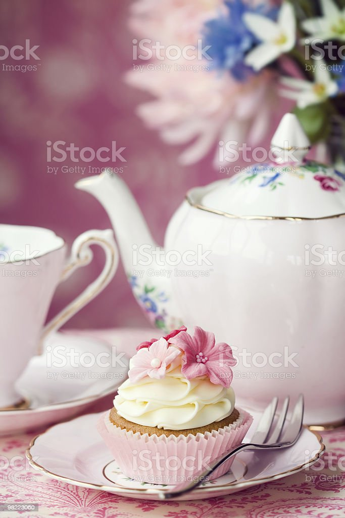 Afternoon tea royalty-free stock photo