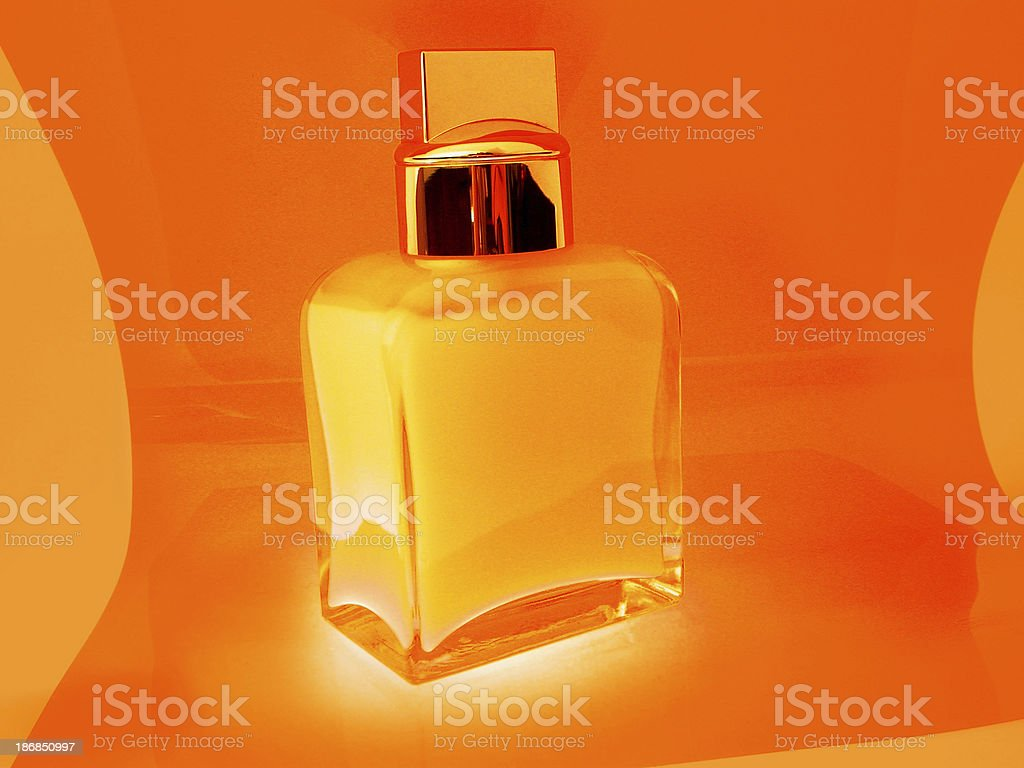 Aftershave Bottle royalty-free stock photo