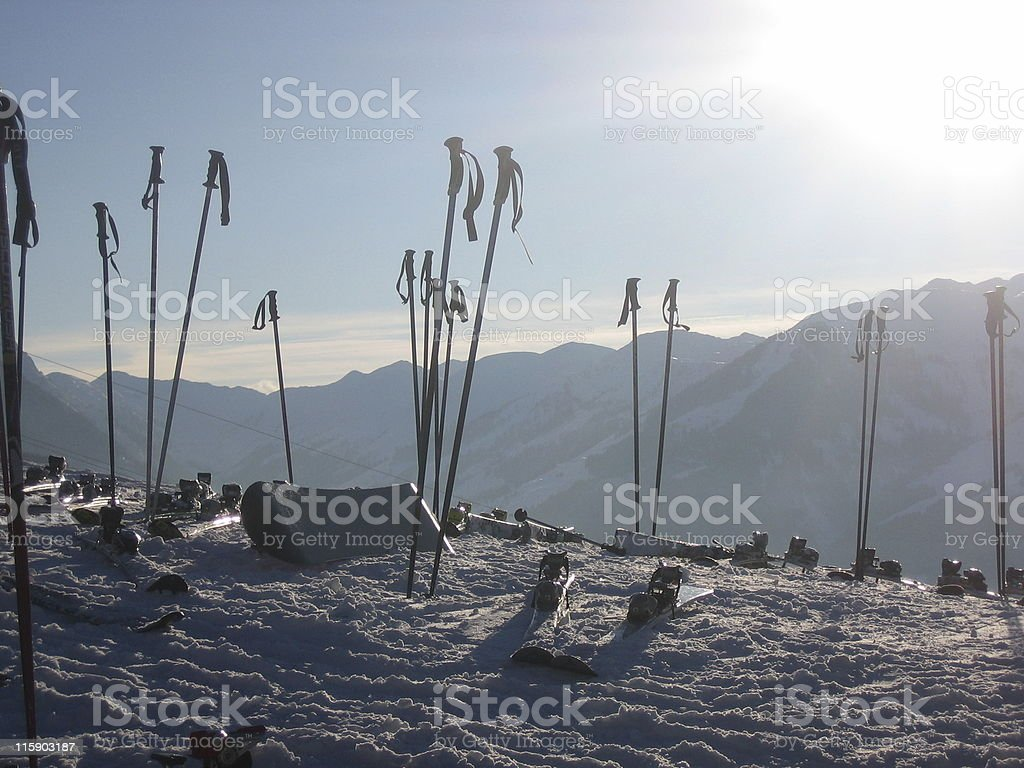 afterski royalty-free stock photo