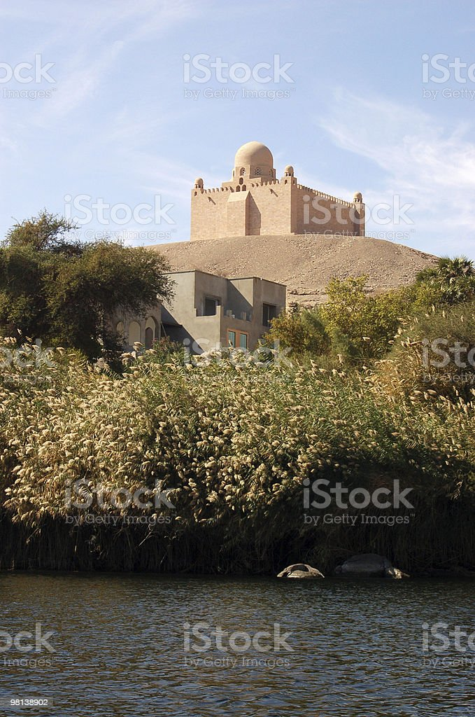 Aga Khan Mausoleum, Aswan royalty-free stock photo