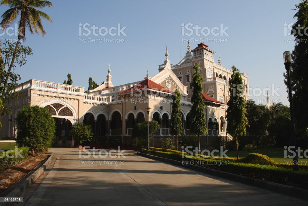 Aga Khan palace in Pune, India stock photo