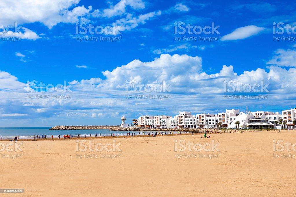 Agadir city, Morocco foto