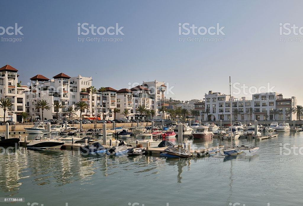 Agadir Marina du matin - Photo