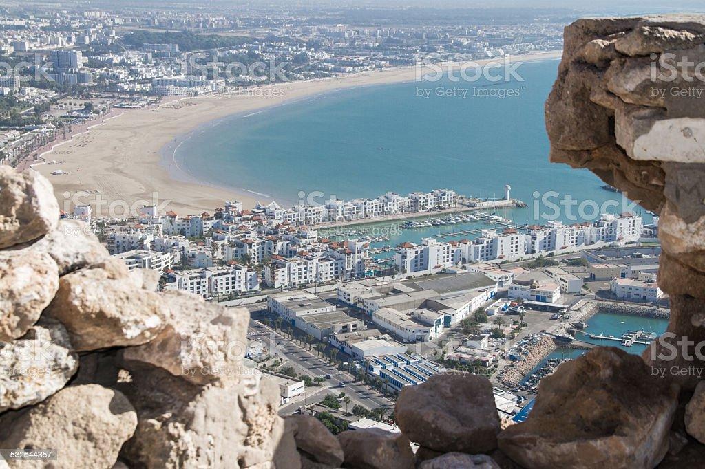 Agadir, Morrocco stock photo