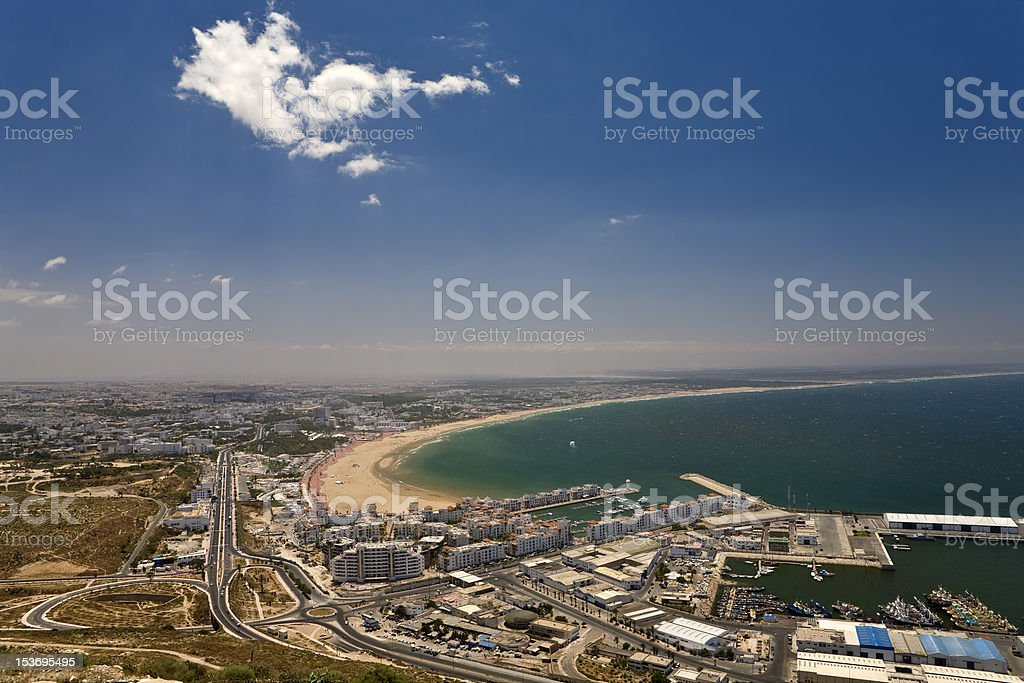 Agadir stock photo