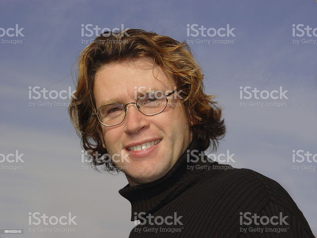Against the sky - Royalty-free Adult Stock Photo