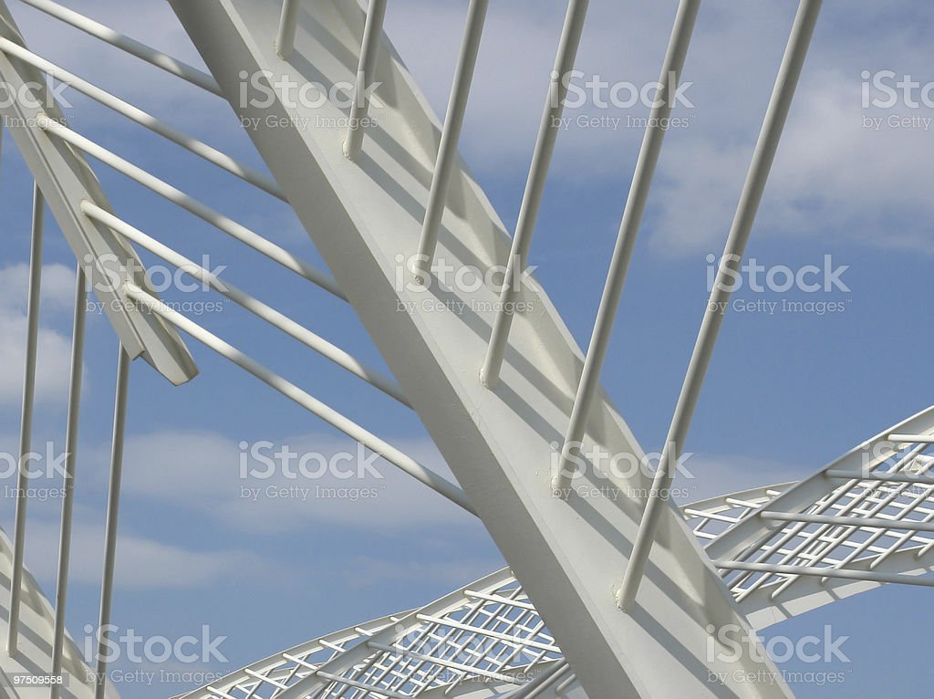 Against the sky royalty-free stock photo